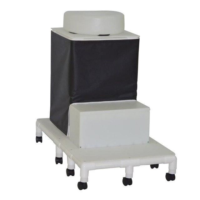 Patient Defecogram Chair with Privacy Panel