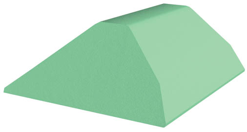 Coated Bariatric Torso Sponge (Stealth)