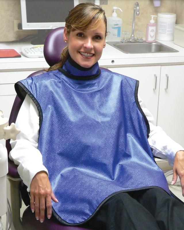 Dental Guard with sewn in Thyroid Collar | Techno-Aide | Techno-Aide