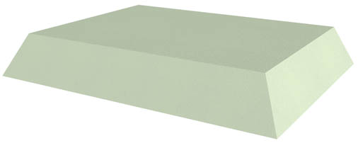 Non-Coated Rectangle Sponge (Stealth)