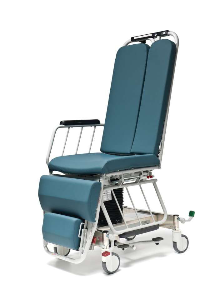 Video Fluoroscopic Imaging Chair for Swallow Studies in Radiology