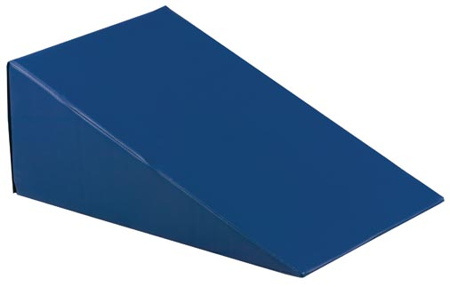 Vinyl Covered 20° Incline Wedge Bolster Sponge