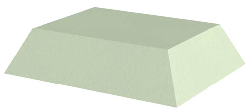 Non-Coated Rectangle Sponge (Stealth)
