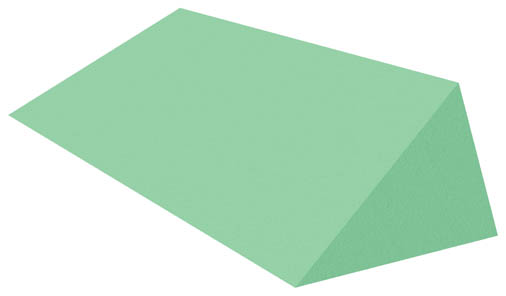 Coated 30°-60°-90° Multiangle Bariatric Wedge Sponge (Non-Stealth)