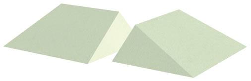 Non-Coated 16° Wedge Sponge Set (Stealth)