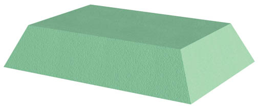 Coated Bariatric Rectangle Sponge (Stealth)