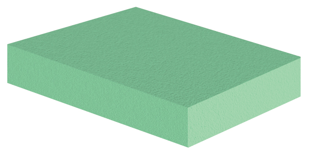 Coated Rectangle Sponge (Non-Stealth)