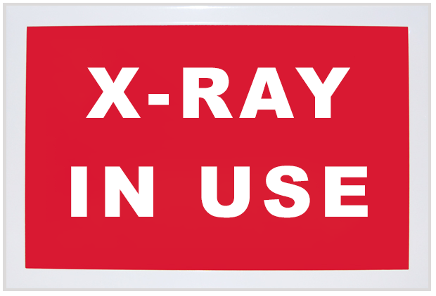 Standard Illuminated Sign [X-Ray In Use]
