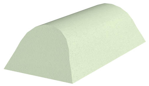 Non-Coated Cervical Head Rest Sponge (Stealth)