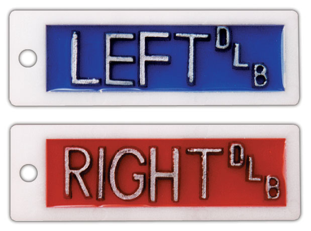 Plastic Right & Left (1/2