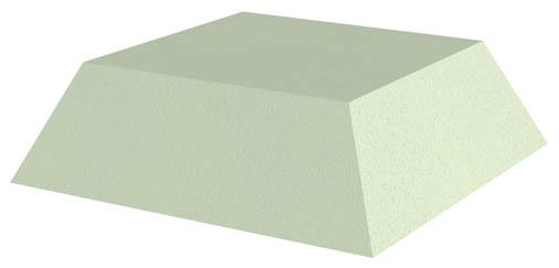 Non-Coated Square Sponge (Stealth)