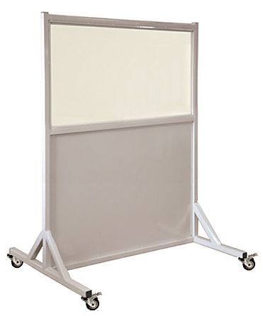 Mobile Radiation Lead Shield X-Ray Barrier
