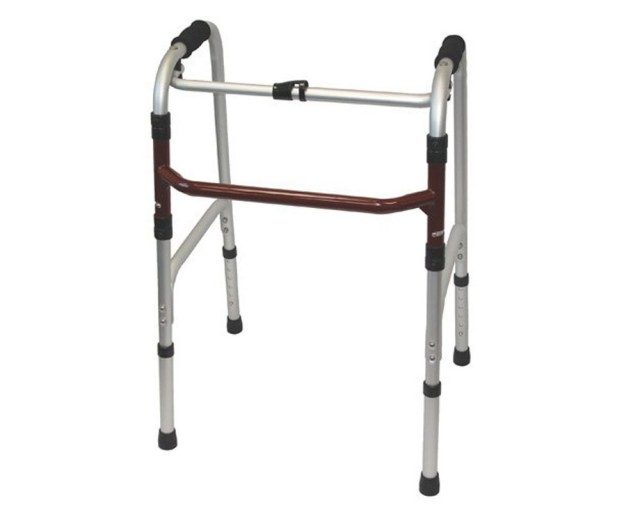 Non-Ferromagnetic MRI Folding Walker