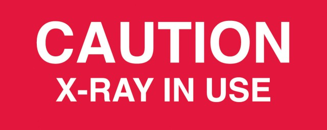 Caution Xray Sign