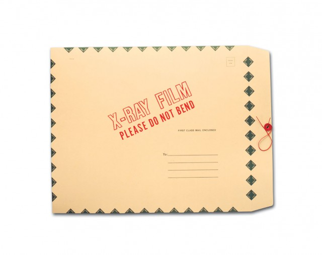 Film Mailer - Standard String & Button Closure [Green and Diamond Border] (box of 50)