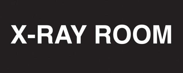 Xray Room Sign