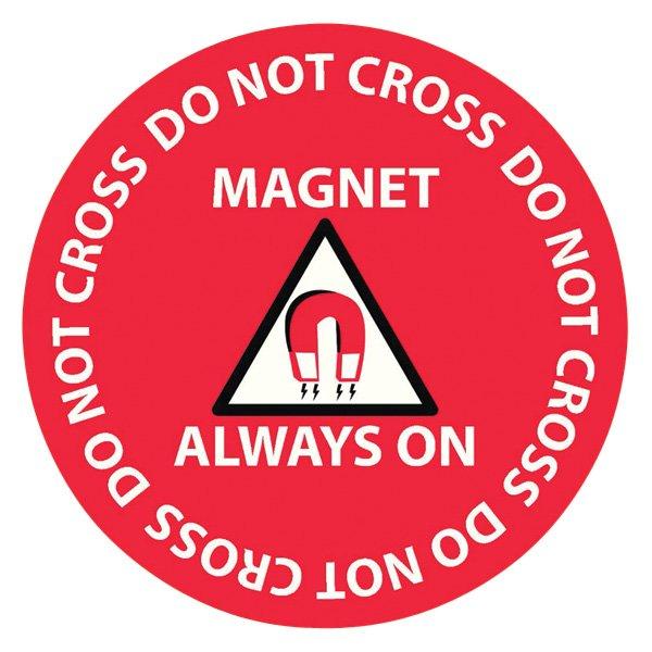 MRI Floor Safety Sticker - NEW!
