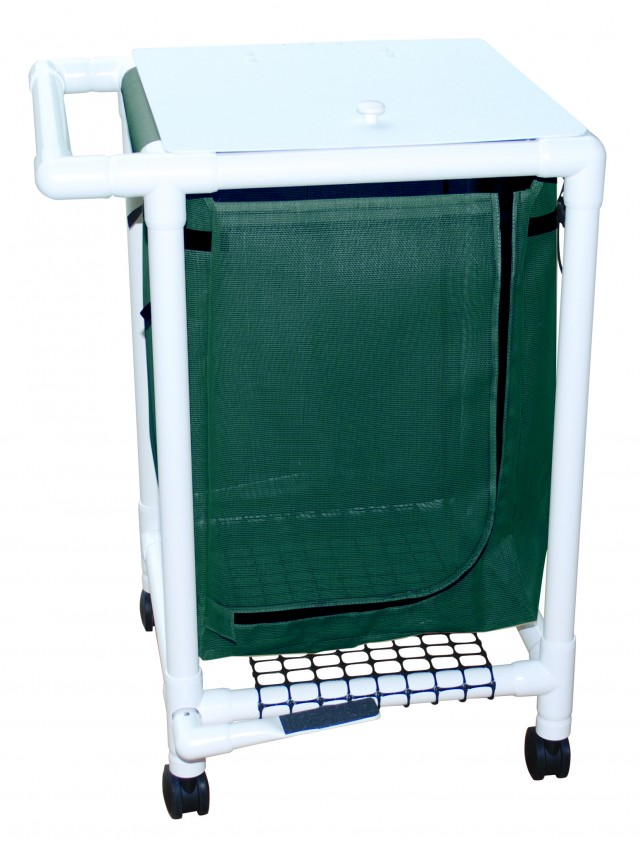 Single Hamper with Foot Pedal