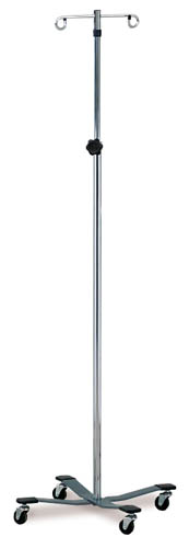 IV Pole 2-Hook Knob Lock