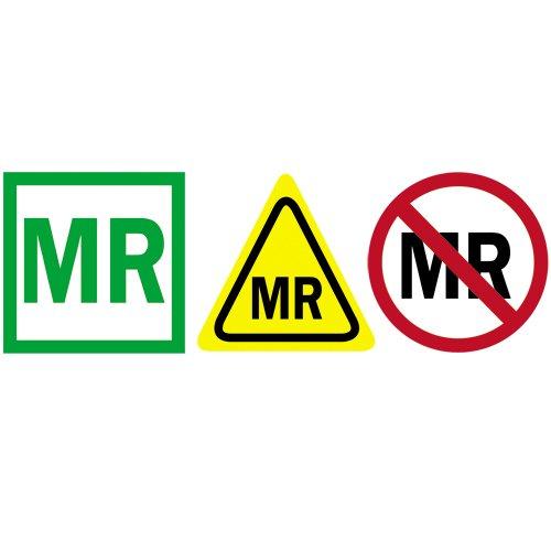 MRI Multi Pack Safety Stickers