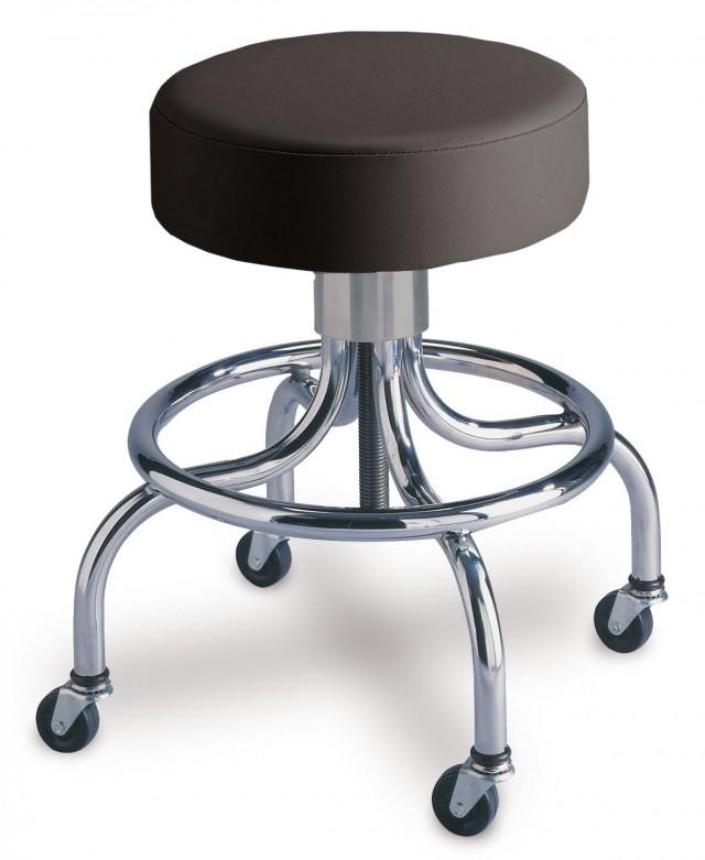 Adjustable Seated 4-Leg Stool (Spin-Lift)