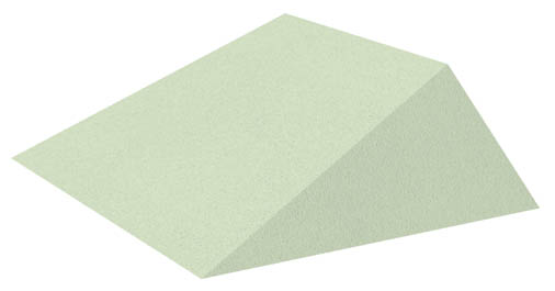 Non-Coated 21° Wedge Sponge (Stealth)