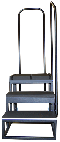 Three Step Tall Weight Bearing Platform