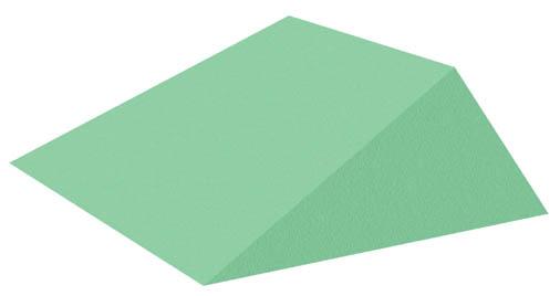 Coated 21° Wedge Sponge (Stealth)