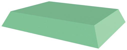 Coated Bariatric Decubitus Rectangle Sponge (Stealth)