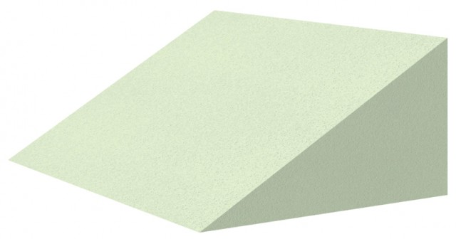 Non-Coated 30° Cardiac Wedge Sponge (Non-Stealth)