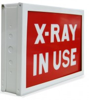 Premium LED Illuminated Sign [X-Ray In Use]