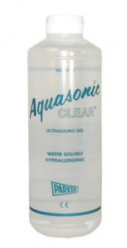Aquasonic Clear Ultrasound Gel