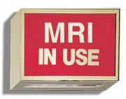 Illuminated Sign: MRI IN USE