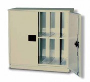 File Cabinet with Locking Doors