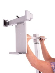 Mobile Image Receptor Holder Non Tilt & Rotate For Use With Heavy Receptors