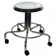 MRI Stainless Steel Doctor Stool w/ casters