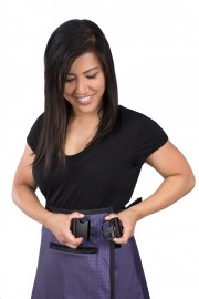 Female Skirt Guard with Wide Belt