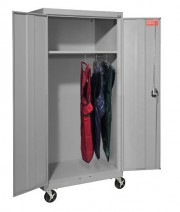 Mobile Lead Apron Locker with Hangers