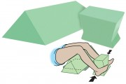 Coated Knee Arthroplasty Stress Assembly Sponge Set (Non-Stealth)