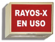 Spanish Xray In Use Illuminated Sign