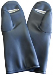 Premium Full Coverage Radiation Safety Mitts with Dexterity Palm Slit
