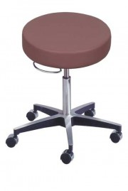 Medical Pneumatic Stool with Locking Casters