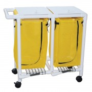 Double Hamper with Foot Pedal