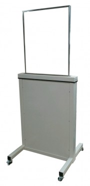 Adjustable Height X-Ray Mobile Barrier