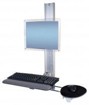 Flip-Up Wall Mount Workstation