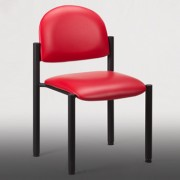 Black Frame Patient Room Chair