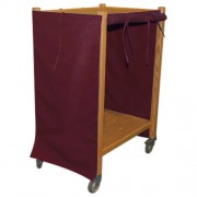 Burgundy Coil Cart Cover