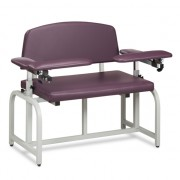 Extra Wide Padded Chair with Padded Flip Arms. Weight Capacity 700lbs.