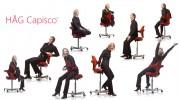 Ergonomic Capisco HAG Ergo Ultrasound Scanning Saddle Chair for Sonographers