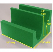 Non Coated Cross Table Lateral Leg Block